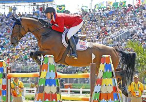 McLain Ward & Azur. Photo by World Of Show Jumping