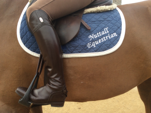 Royal Rider stirrups as used by Harriett Nuttall